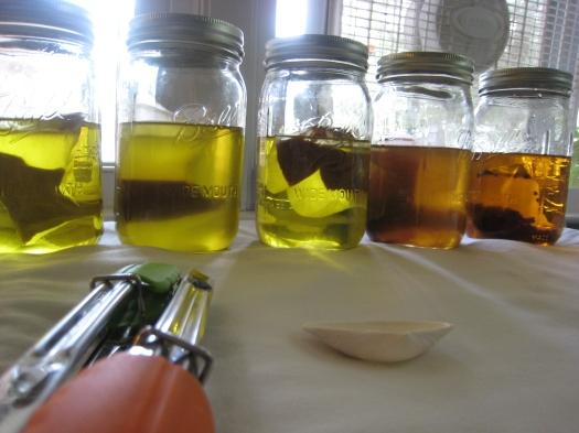 Refined Olive Oil infusions