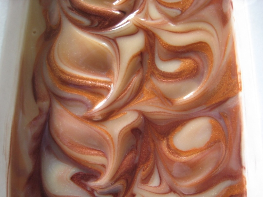 A Silk & Milk Soap