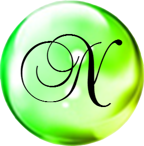 Green Bubble with N