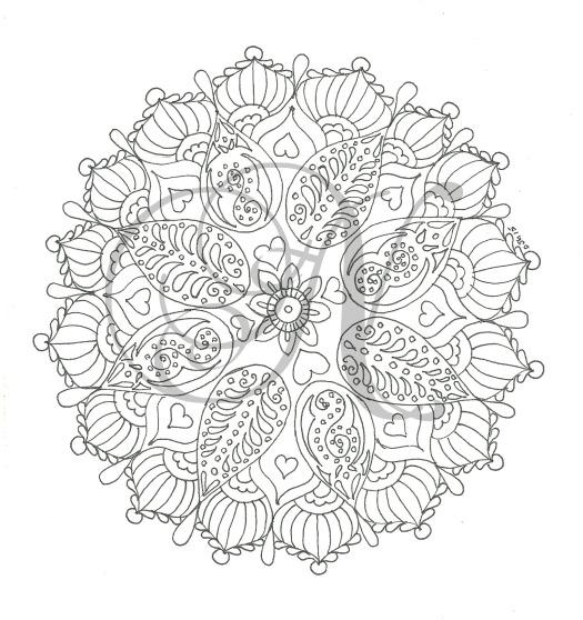 Circular motif, December watermarked for blog