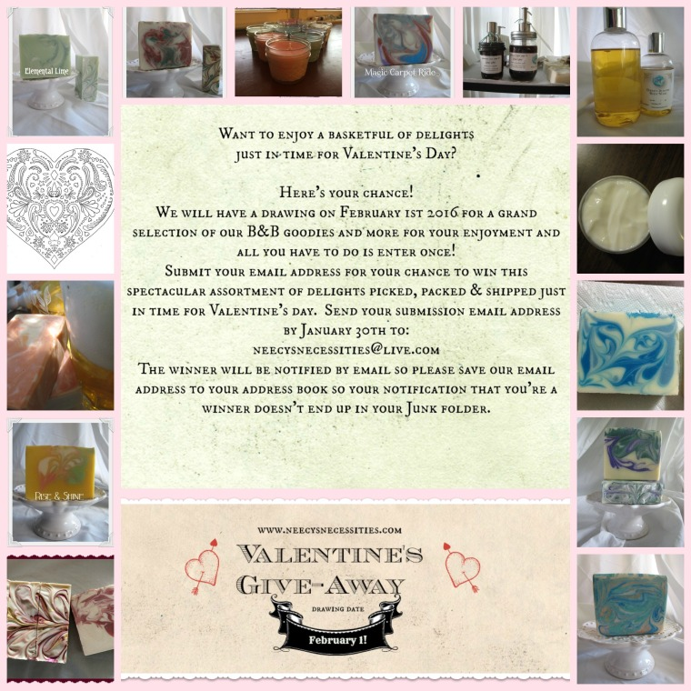 Valentine's GIve-Away Collage