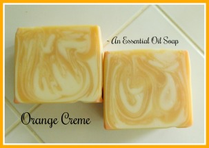 Orange Creme Essential Oil Soap