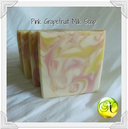 Pink Grapefruit Milk Soap 3