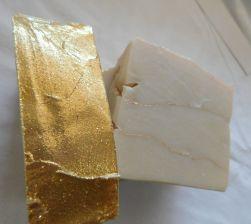 White Christmas Milk Soap
